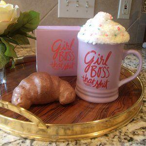 Girl Boss That S*#t - Pink Ceramic Mug NWOT